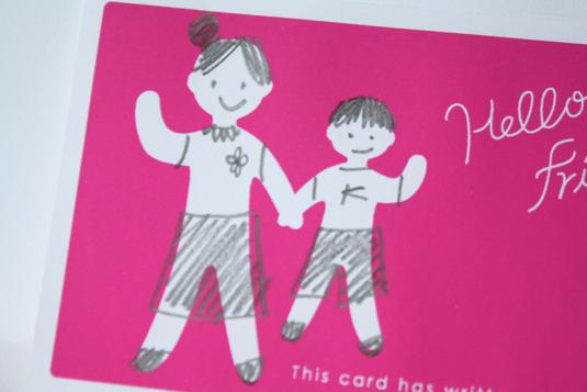 ママ友名刺カード