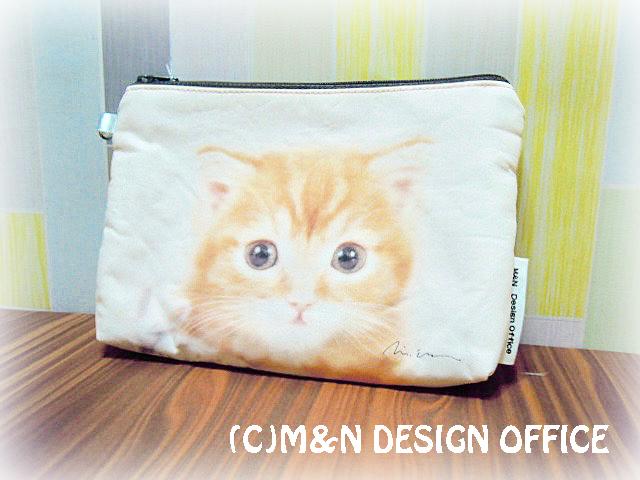 猫の写真ポーチ6