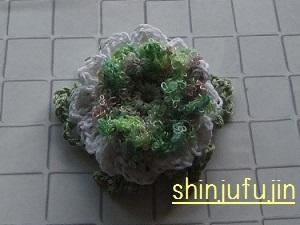 お花畑のコサージュ76