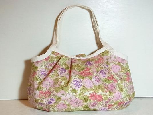 小さめグラニーバッグ「初夏の花畑」