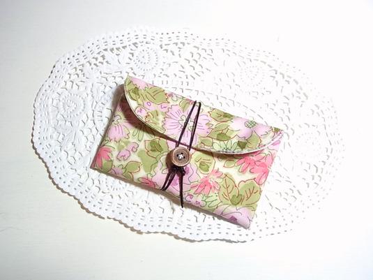 名刺・カードケース 「初夏の花畑」