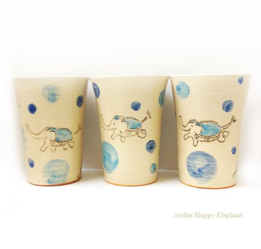 ゾウさんのフリーカップ