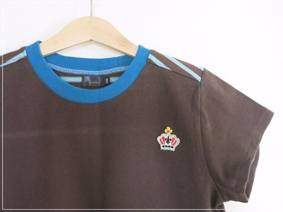 バック切り替え Tシャツ* 130cm