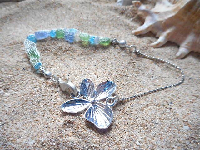 ☆再販☆ Seashore Mermaid Bracelet with Orchid