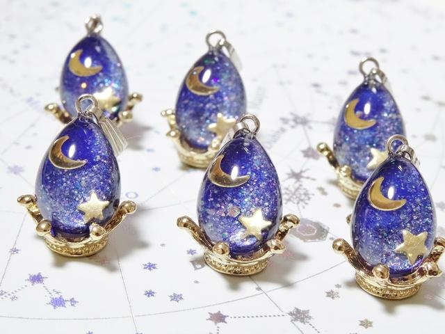☆宇宙の卵 月と星☆