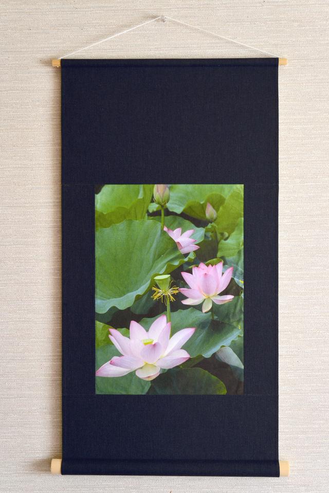 壁掛け 花シリーズ「蓮」