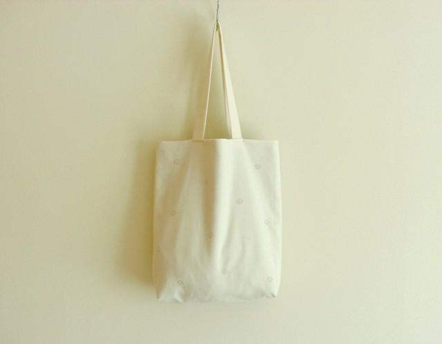お花のコットンバッグ