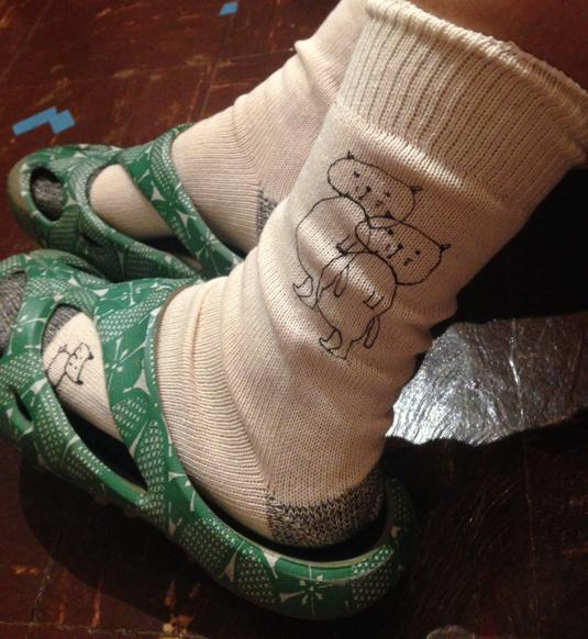 ねこちゃん|sanaepオリジナルプリント靴下