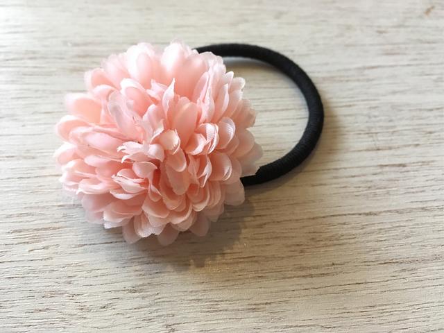 マムのヘアゴム /  ピンク系1