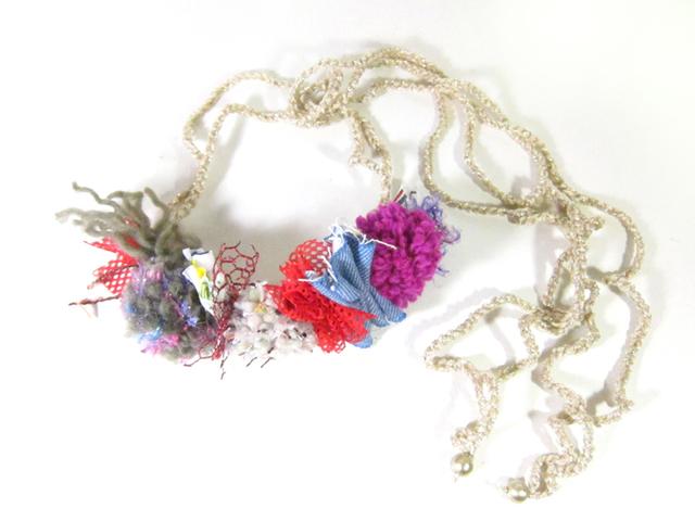 【新作】花冠のようなネックレス「Fluer」AFN-SL008