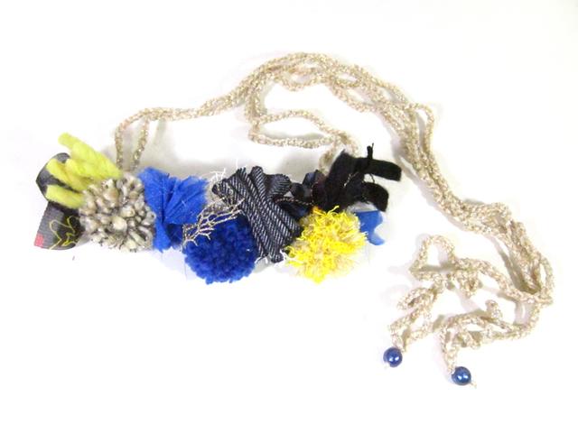 【新作】花冠のようなネックレス「Fluer」AFN-SL009