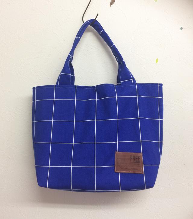 トートbag(ブルー)