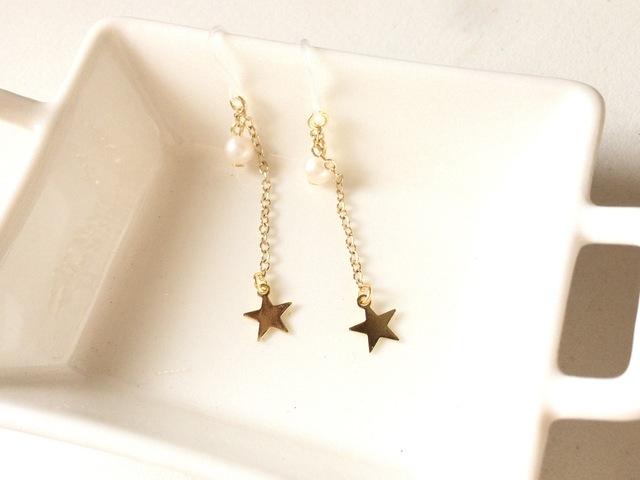 star☆Perl*ピアス