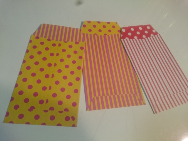 カラフルぽち袋セット