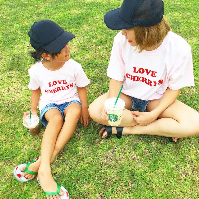 KIDS★LOVECERRYS?Tシャツ
