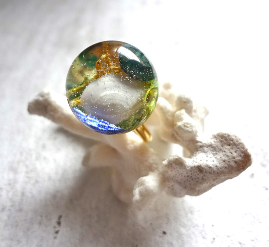 <SOLD OUT>      Seascape Ring J