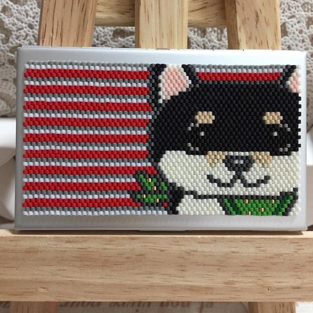 カードケース(柴犬とバンダナ?)