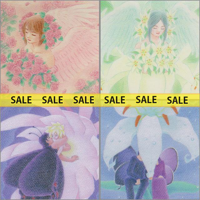【SALE】ポストカード4枚組E