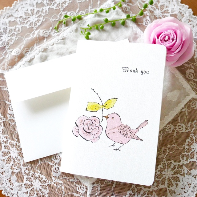 THANK YOU CARD - KOTORI &ROSE