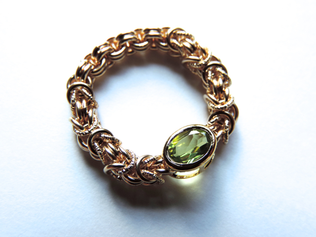 『 Evergreen ( heart ) 』Ring by K14GF