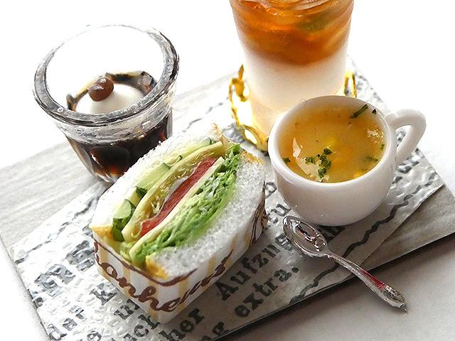 【受注制作】野菜沢山サンドイッチセット