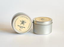 beeswax candle TIN S 4oz