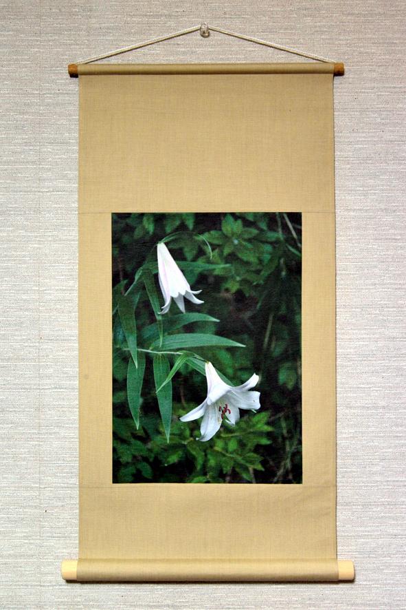 壁掛け 花シリーズ「ササユリ」