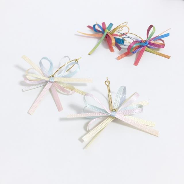 hanabi☆pierce/earring☆pastel