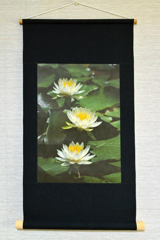 壁掛け 花シリーズ「睡蓮」