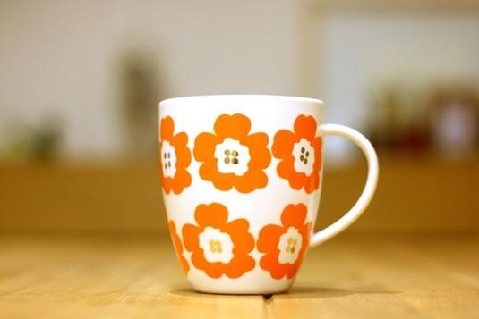 Hanaco(オレンジ)/ マグカップ