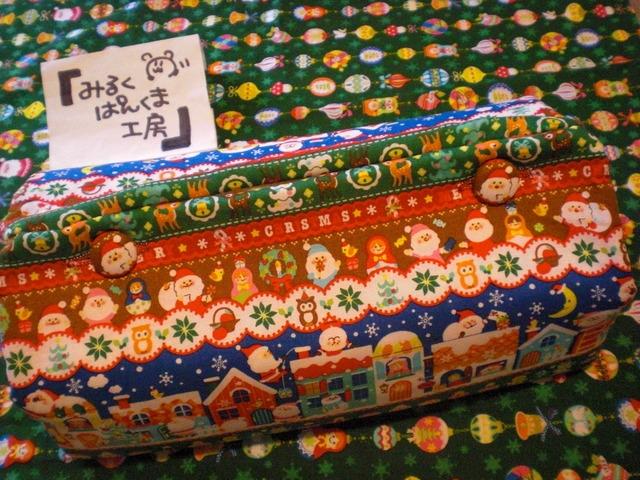 ★クリスマス★ BOXティッシュカバー