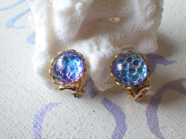 ☆再販☆Sea bubble earrings ヘリオグ...