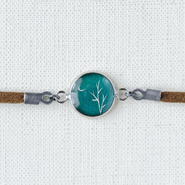ブレスレット35/銀の木
