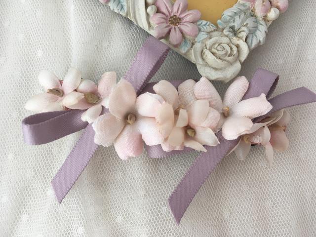 バレリーナバレッタ romantic violets