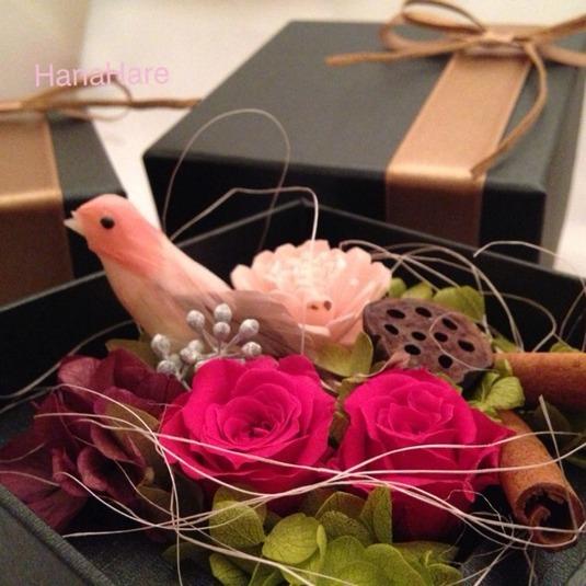 箱の中の小鳥