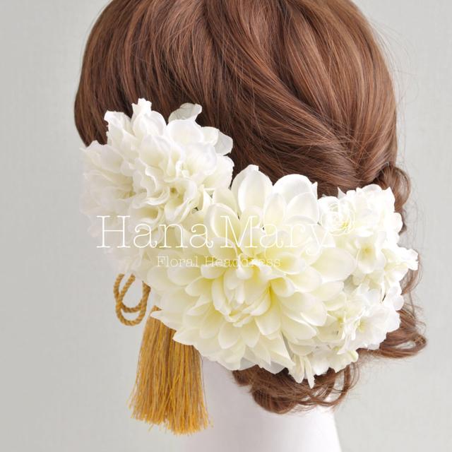 白無垢におすすめ 髪飾り