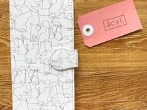 Android機種対応【受注生産】猫づくし手帳型スマホケース