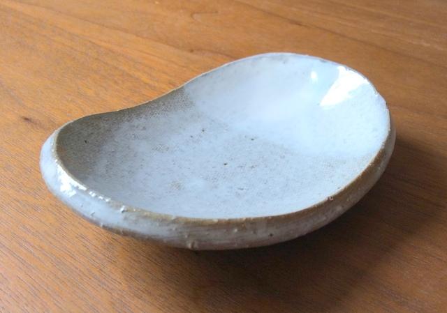 ★白化粧豆皿