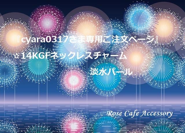 (1563)『cyara0317さま専用ご注文ペー...