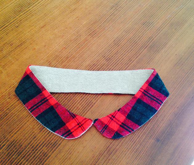 (再販!)小さめ丸襟の付け襟g