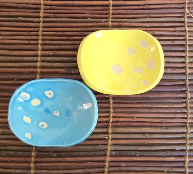 ★ポップ小皿:黄色