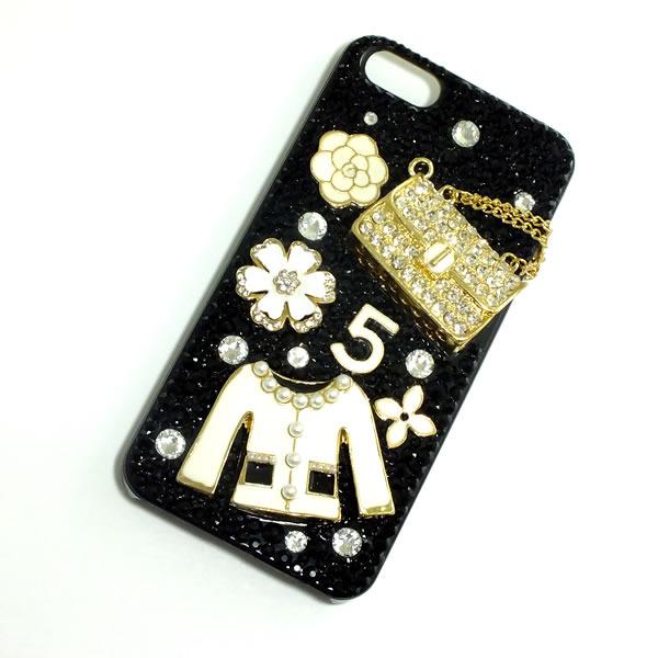 *iphone5 iphone5sカバー*お洋服とバッグ*