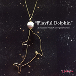 """playful Dolphin""ネックレス"
