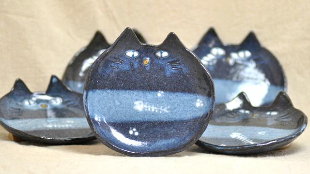 猫の皿-#Fish-Bone-Collection 【レギュラーサイズ】
