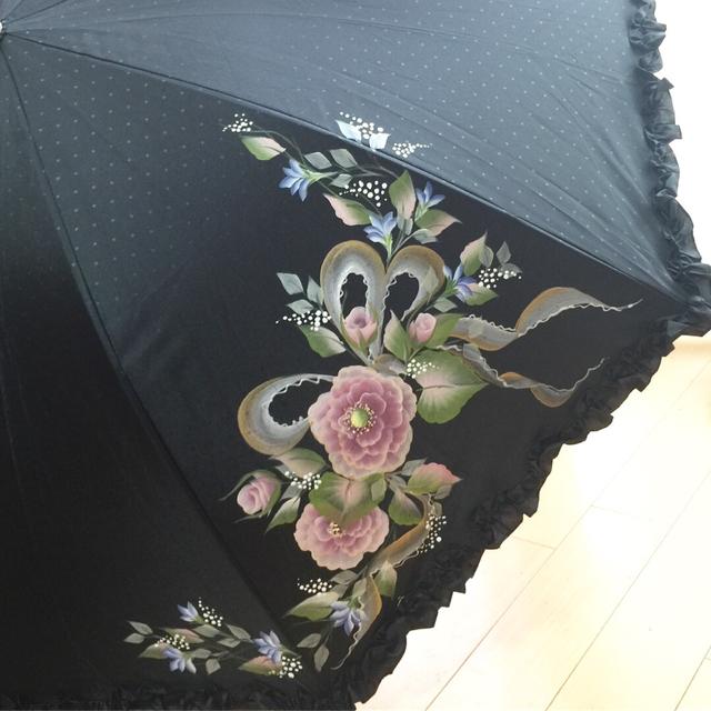 バラの日傘