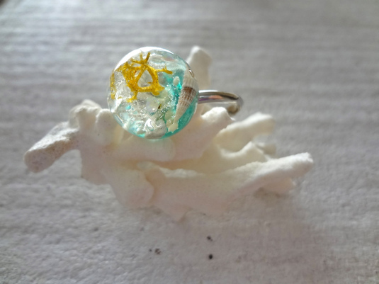<SOLD> Seascape Ring L