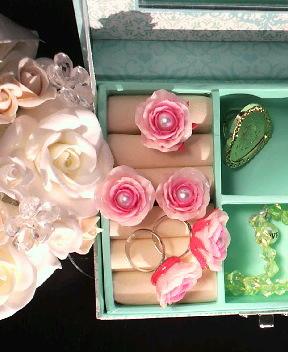 pink薔薇ring