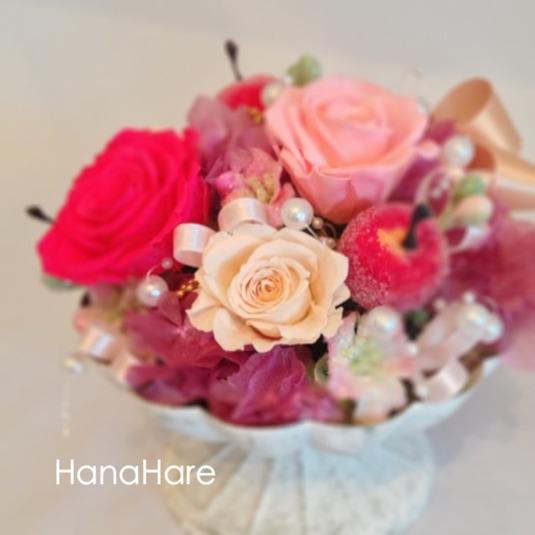 ピンクのお花達