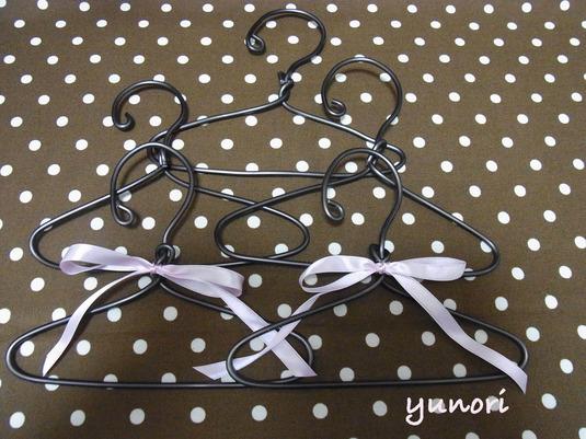 ◆再販◆ワンコ服ハンガー5本セット#2