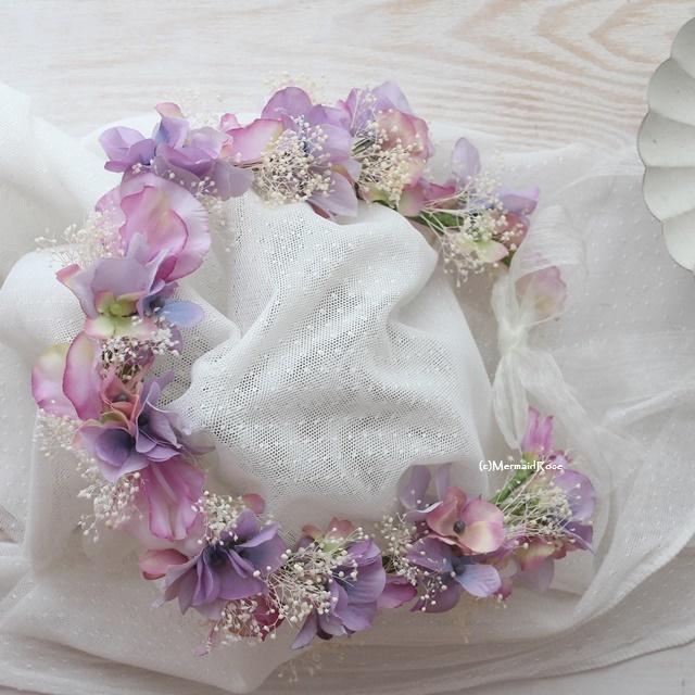 花冠&リストレット&ブートニア*スイト...